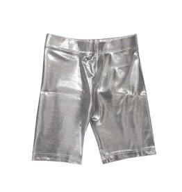 Dori Creations Shiny Silver Bike Short