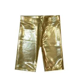 Dori Creations Shiny Gold Bike Short