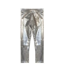 Dori Creations Shiny Silver Legging