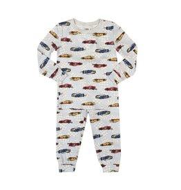 Esme Race Cars PJ Set