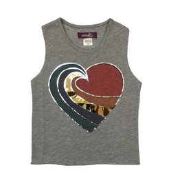 Sparkle Heart Swirl Tank