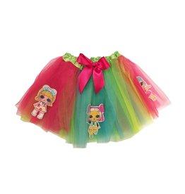 LOL Doll Rainbow Tutu Skirt One Size 4-6x