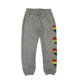 Flowers by Zoe Rainbow Hearts Sweatpant