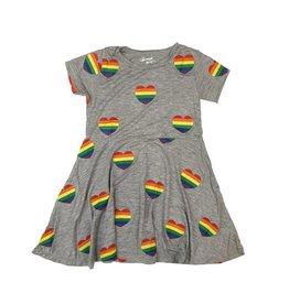 Flowers by Zoe Infant Rainbow Hearts Dress