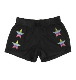 Firehouse Distressed Rainbow Star Short