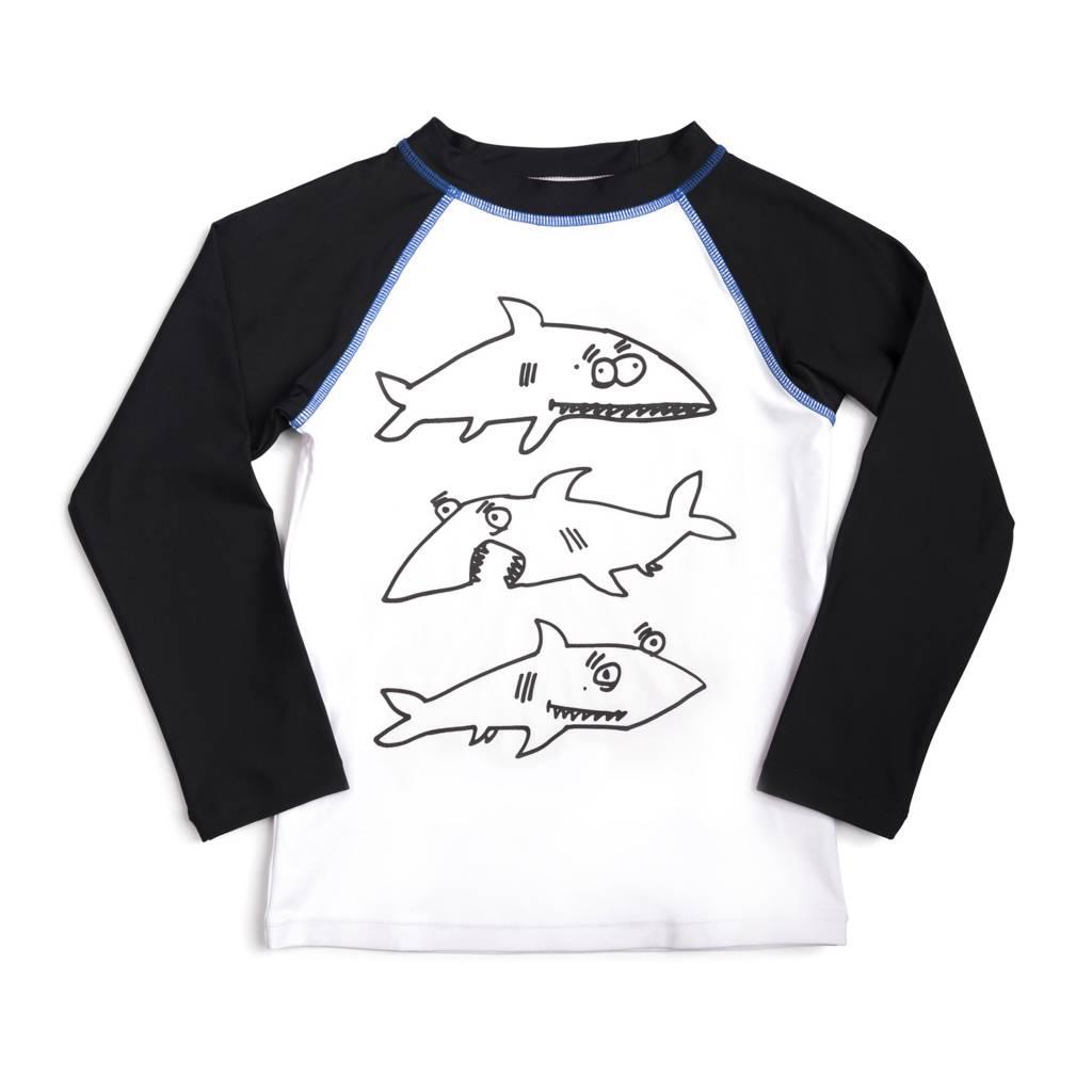 Appaman Shark Frenzy Infant Rash Guard