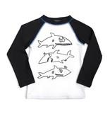 Appaman Shark Frenzy Rash Guard