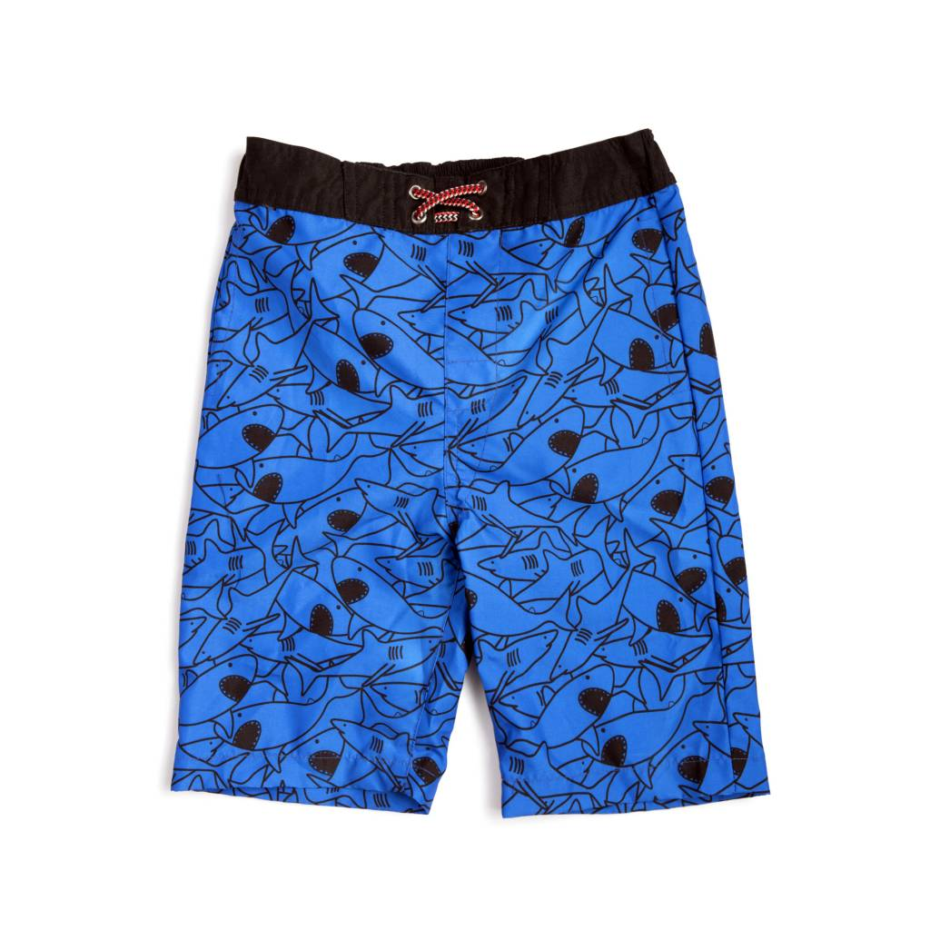 Appaman Shark Frenzy Swim Trunks