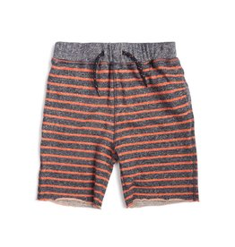 Appaman Orange Striped Sweat Shorts