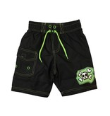 Mish Green Skull Patch Infant Swimsuit