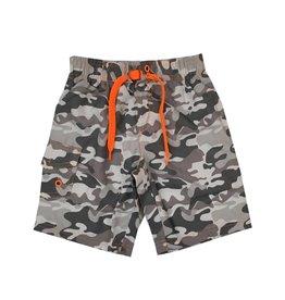 Mish Grey Camo Infant Swimsuit