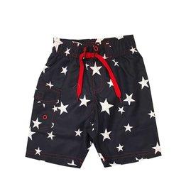 Mish Navy Stars Infant Swimsuit