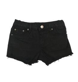 Tractr Black Cut Off Shorts