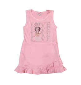 Sofi Pink Love Love Love Toddler Tank Dress