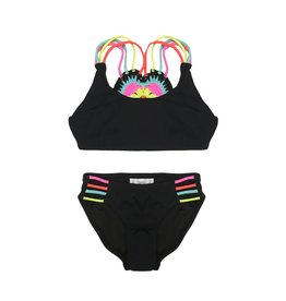 Little Peixoto Crochet Heart Swimsuit