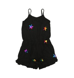 Flowers by Zoe Rainbow Foil Star Romper