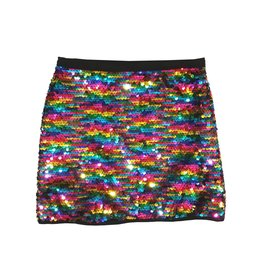 Flowers by Zoe Reversible Sequin Skirt
