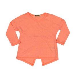fe1e842a0a LA Made Neon Orange Open Back Tunic