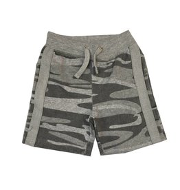Vintage Havana Camo Shorts with Stripe