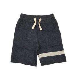 Vintage Havana Sweat Shorts with Stripe