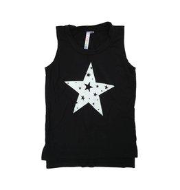 Malibu Sugar Cut Out Stars Tank