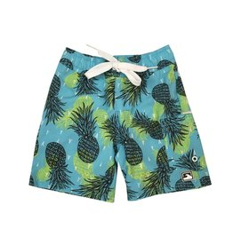 Coral Reef Pineapples Toddler Swimsuit