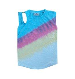 Firehouse Summer Tie Dye Open Shoulder Tank