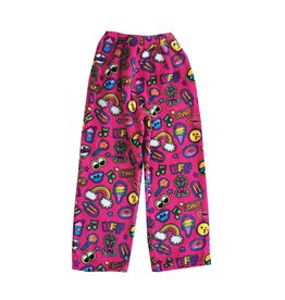 Confetti Patches Plush Lounge Pants