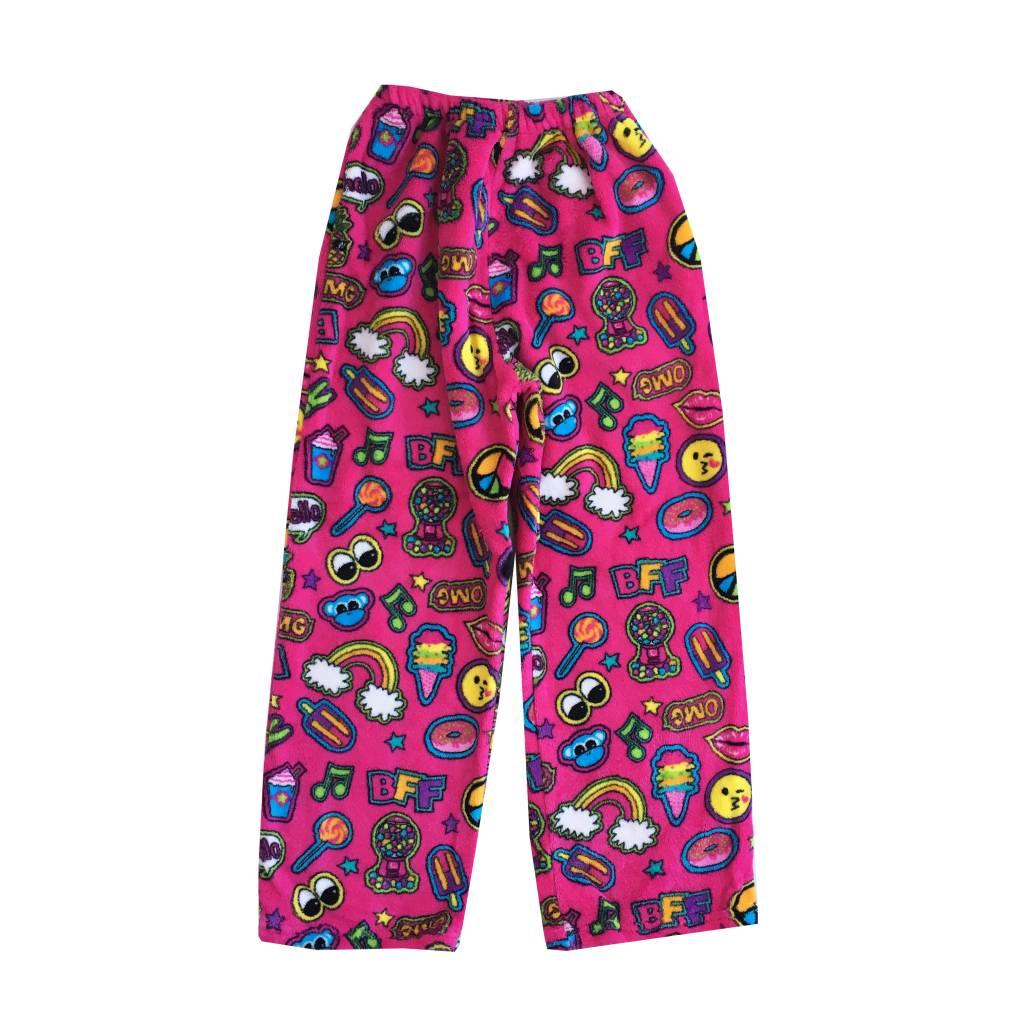 Confetti Patches Plush Lounge Pants