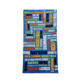 Sports Graffiti Towel