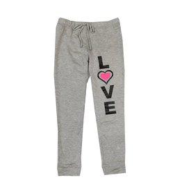 Malibu Sugar Love Heart Fleece Sweatpants