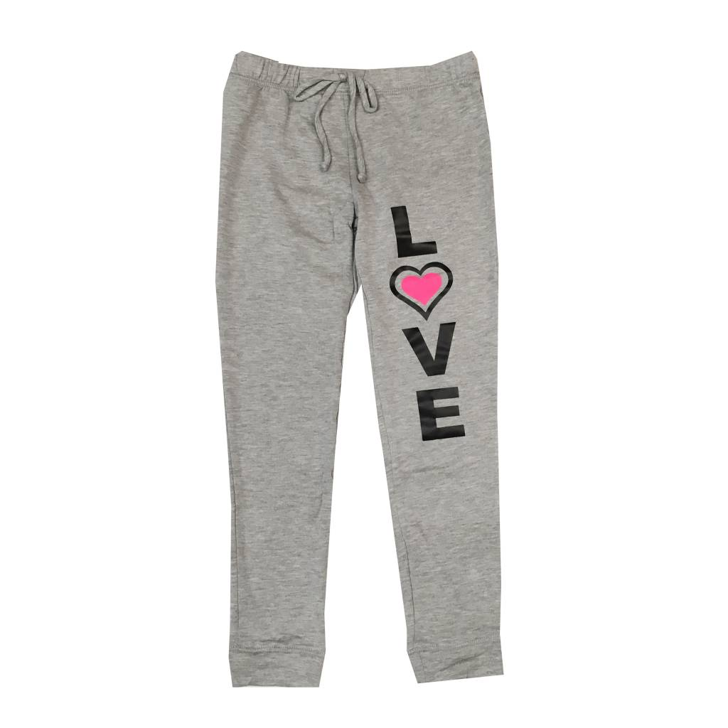 Malibu Sugar Love Heart Fleece Sweatpants