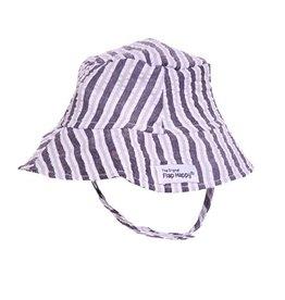 Flap Happy Striped Bucket Hat