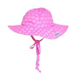 Flap Happy Pink Mermaid Floppy Hat