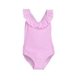Flap Happy Polka Dot Infant Swimsuit