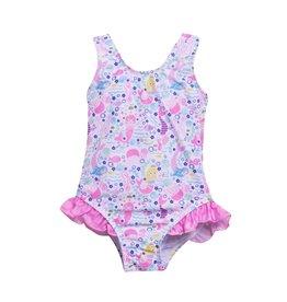 Flap Happy Mermaid Infant Swimsuit