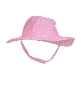 Flap Happy Pink Polka Dot Floppy Hat
