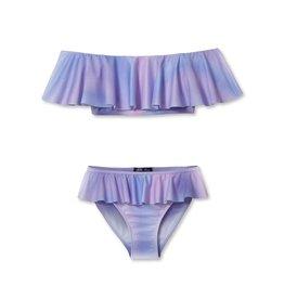 Stella Cove Pastel Ombre Ruffle Bikini