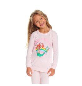 Chaser Little Mermaid Knit Sweatshirt