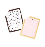 Toaster Pastry Silicone Teether (2 colors)