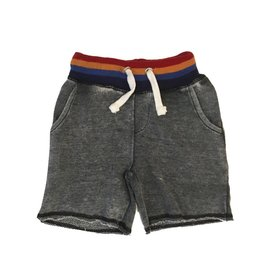 Vintage Havana Stripe Trim Sweat Short