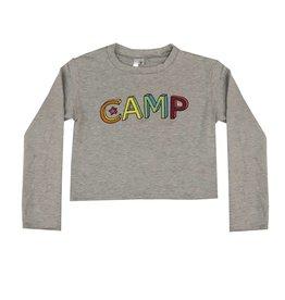 Malibu Sugar Camp Fleece Cropped Sweatshirt