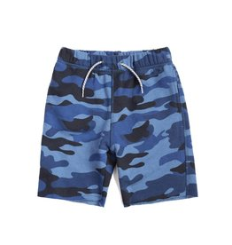 Appaman Navy Camo Sweat Shorts