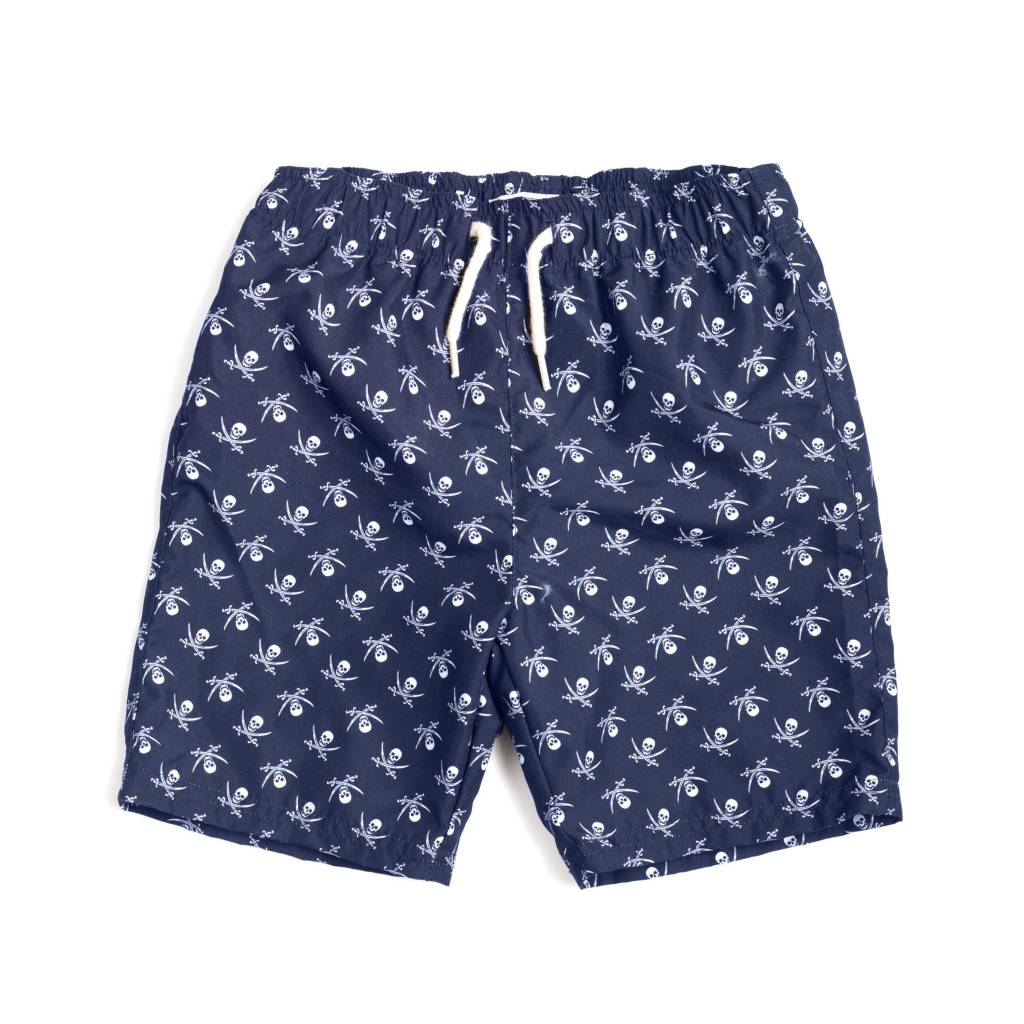 Appaman Skull & Crossbones Swimsuit