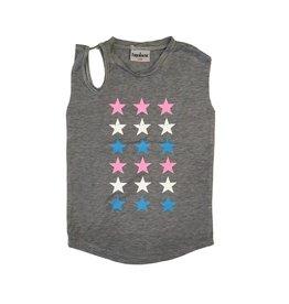 Firehouse Open Shoulder Stars Tank