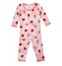 Esme Infant Lips PJ Set