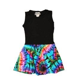 Dori Creations Brite Tie Dye Tank Dress