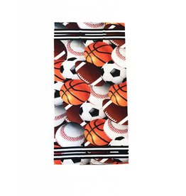 Sports Theme Beach Towel