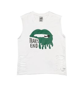 Green Camp Lips Tank