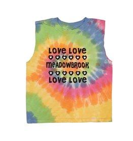 Pastel Tie Dye Love Love Camp Tank